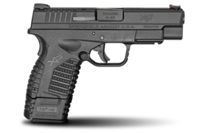 XDs Concealed Carry Pistol for Home Defense