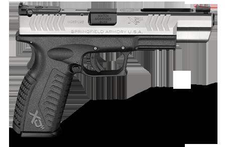 Beginner's Competitive Shooting Gun: Springfield XDm 5.25