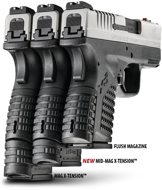 xd s mid mag magazine with x tension springfield armory. Black Bedroom Furniture Sets. Home Design Ideas