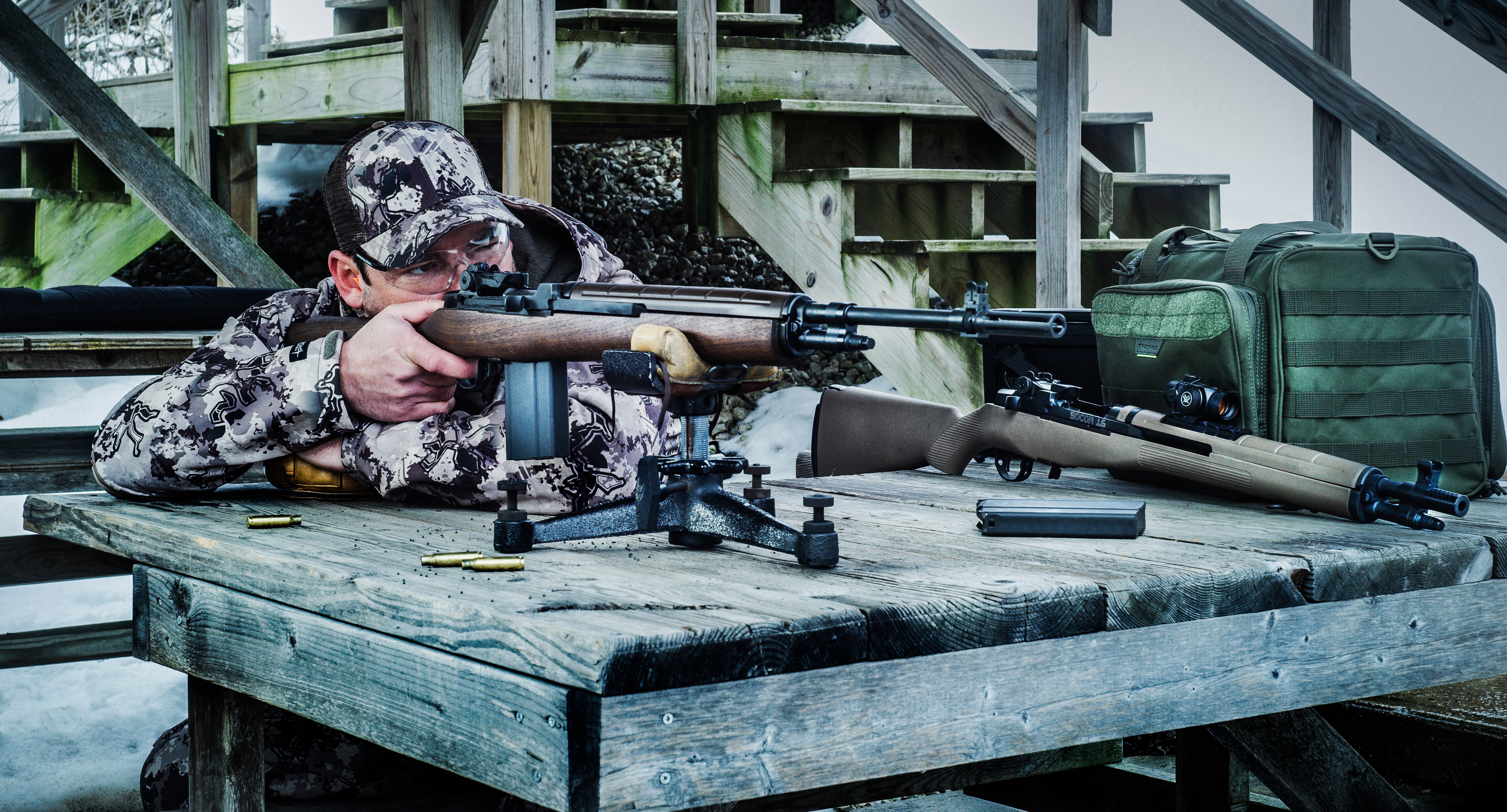 M1a bench shooter