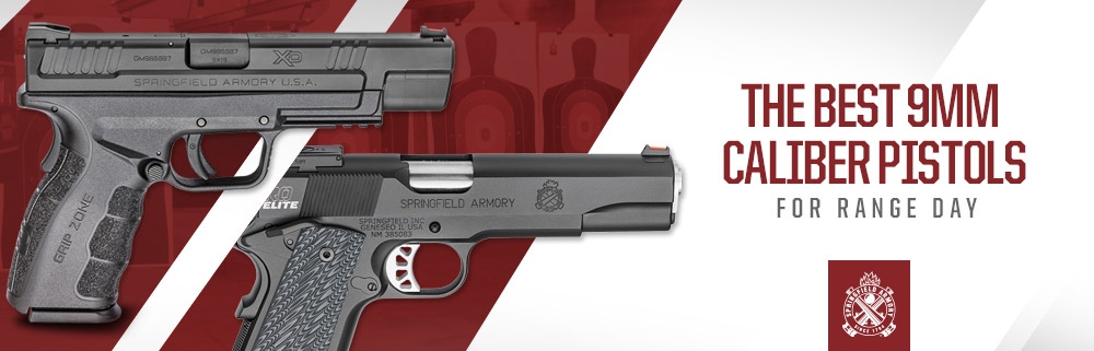 The Best 9MM Caliber Pistols for Range Day