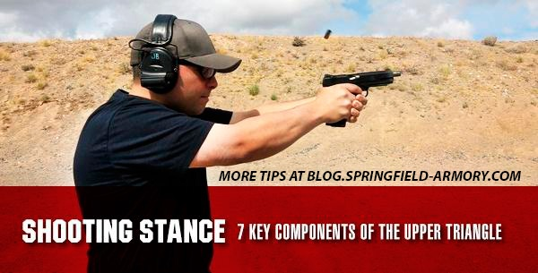 Shooting Stance - 7 Key Components Of The Upper Triangle